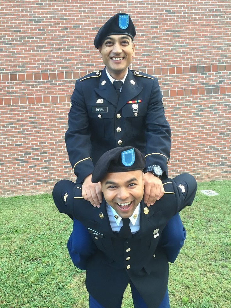 Mukul Jain US Army Graduation