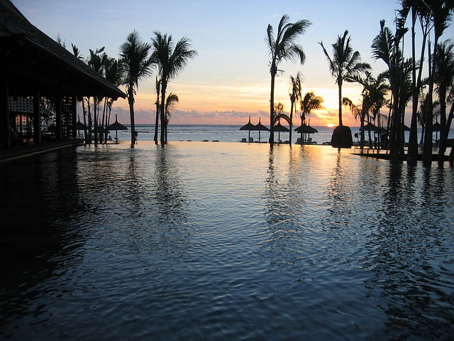 Sunset in Mauritius_PD