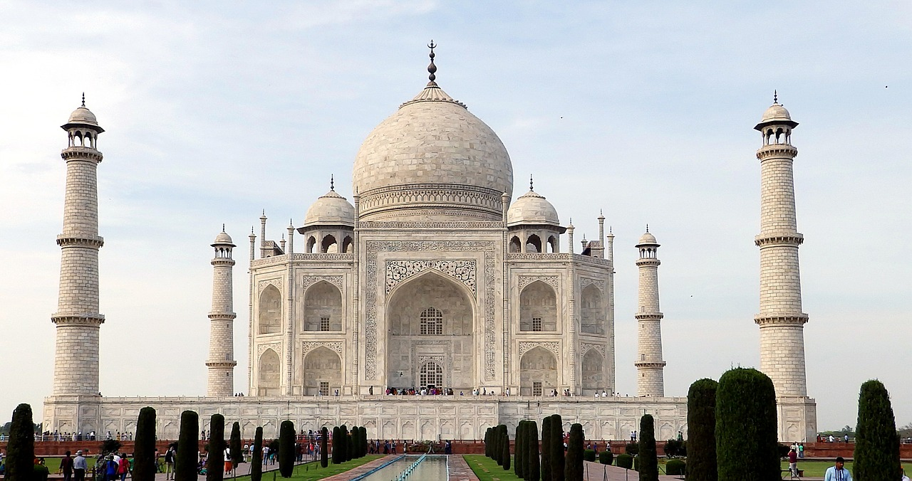 the taj mahal_india_seven wonders of the world_PD