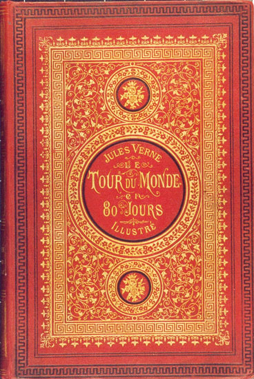 Book by Jules Verne_Around the World in 80 Days_Book Cover_PD