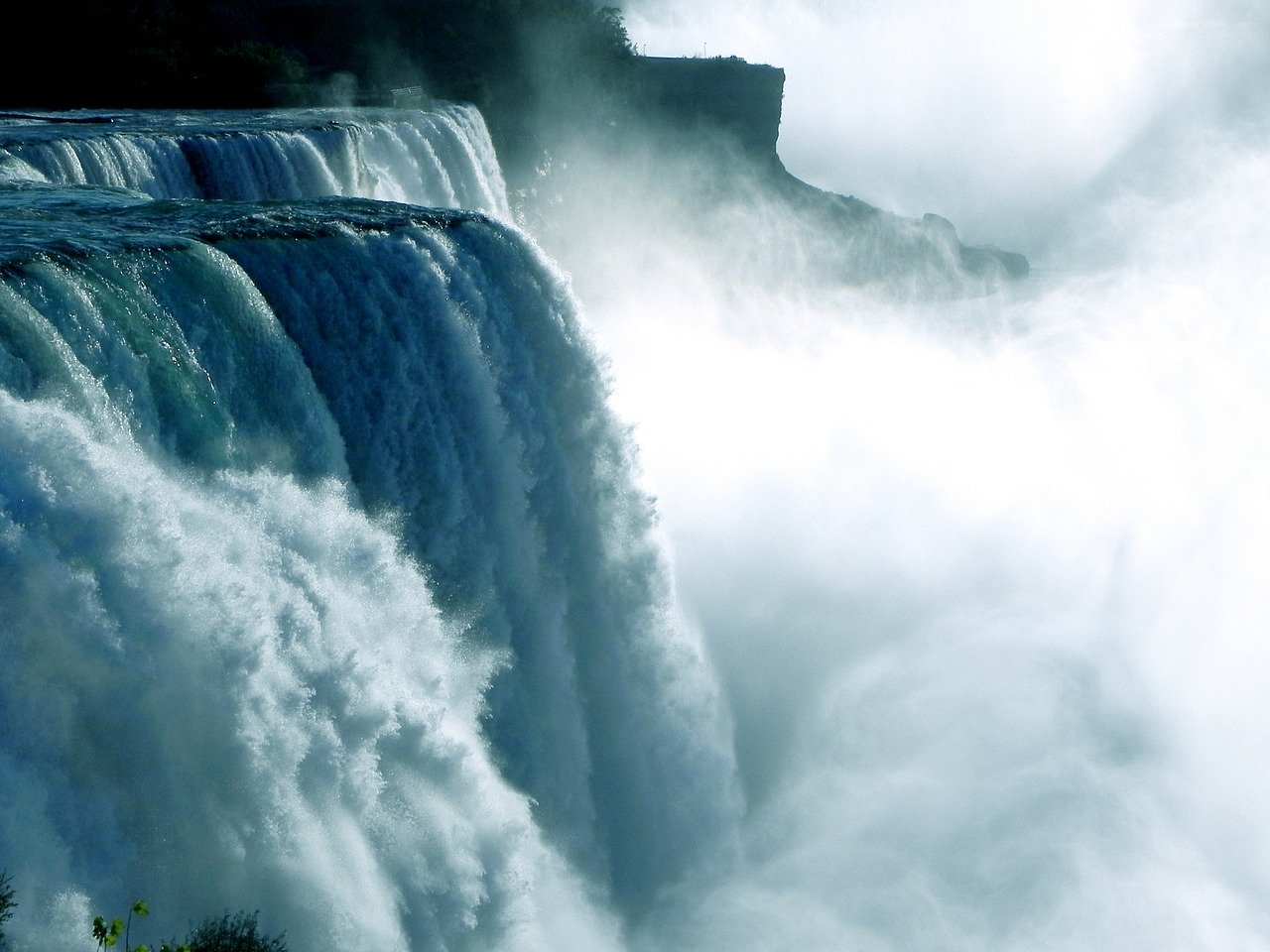 Niagara Falls Waterfall_Canada_PD
