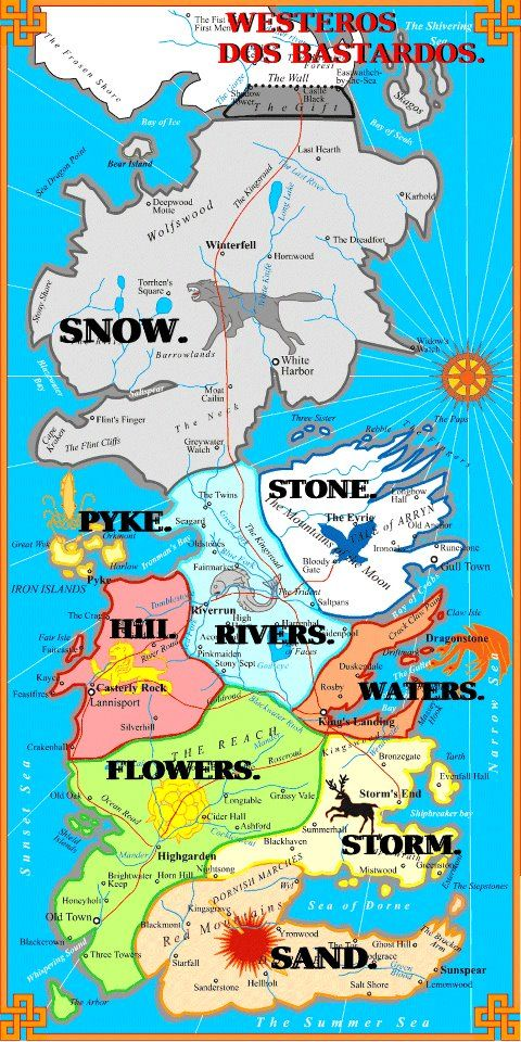 picture regarding Game of Thrones Printable Map named Eye-catching Match of Thrones Maps of Westeros the Regarded World wide