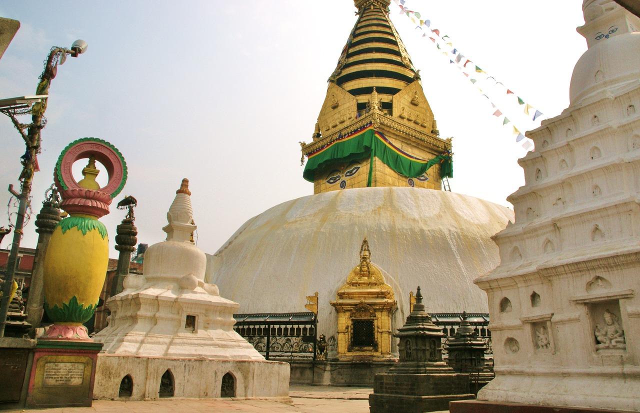 Kathmandu Buddhist stupas_Nepal_PD
