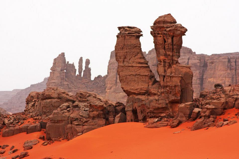Algeria Tadrart_Rouge