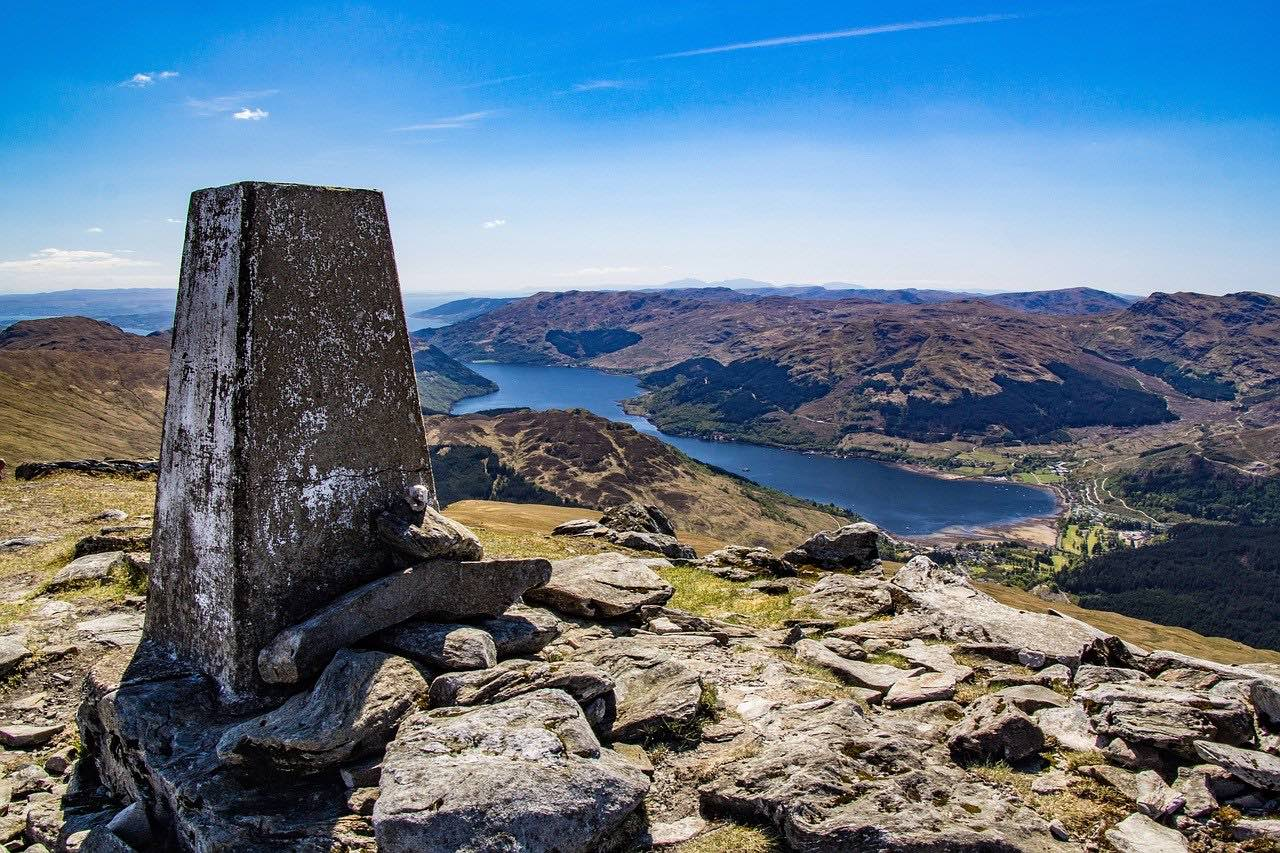 View of Loch Goil Scotland_UK_PD