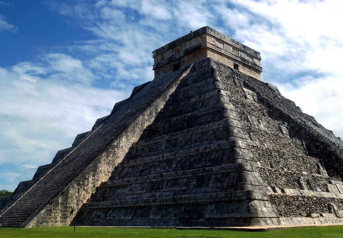 Mexico Mayan Pyramid