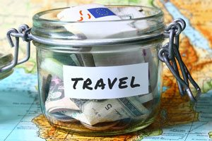 money for travel. Finances. Call banks, get your money and finances in order for long term travel