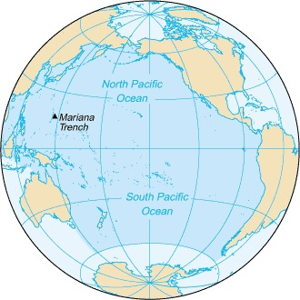 Map of Pacific Ocean_PD