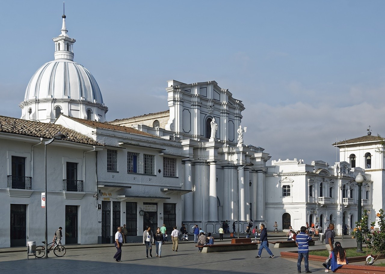 Popayan Cathedral_Colombia_PD