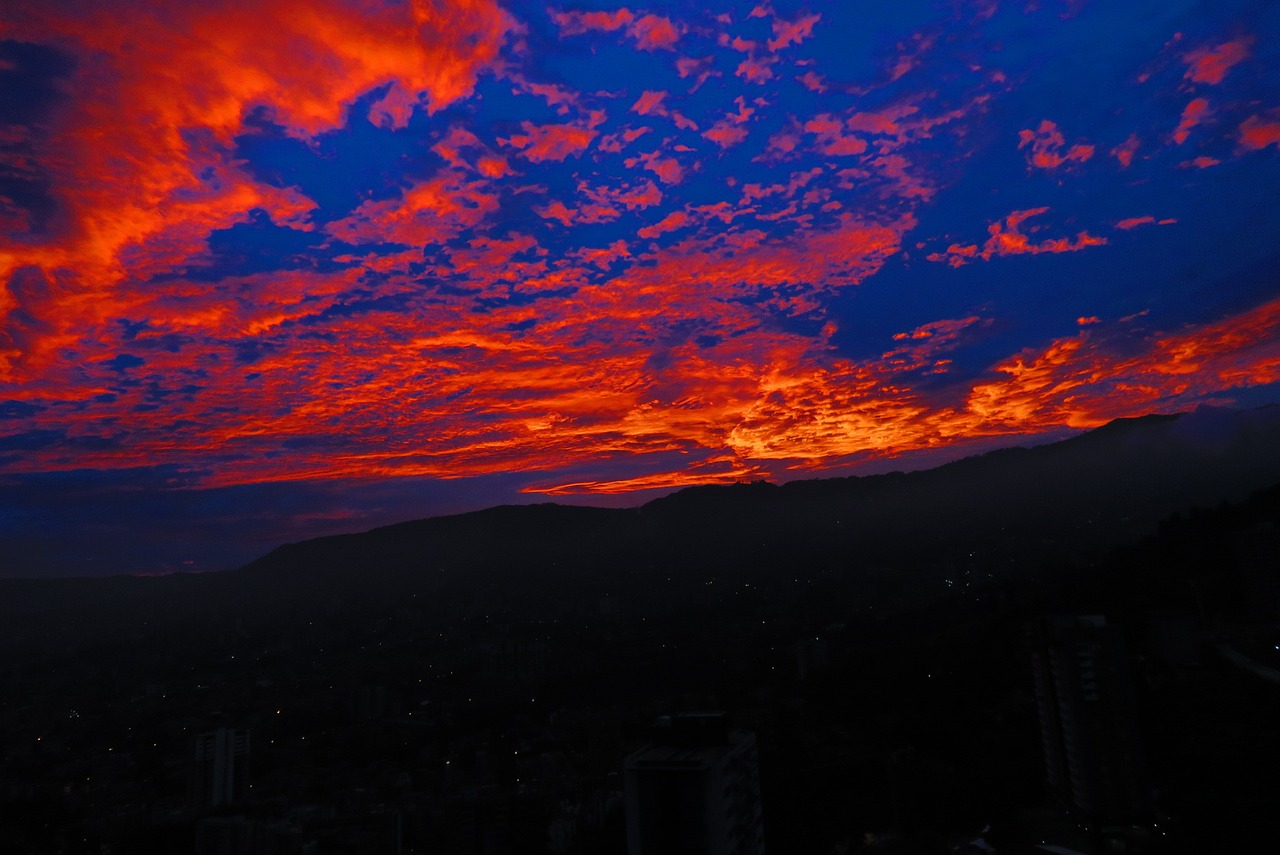 Sunset in Medellin_PD