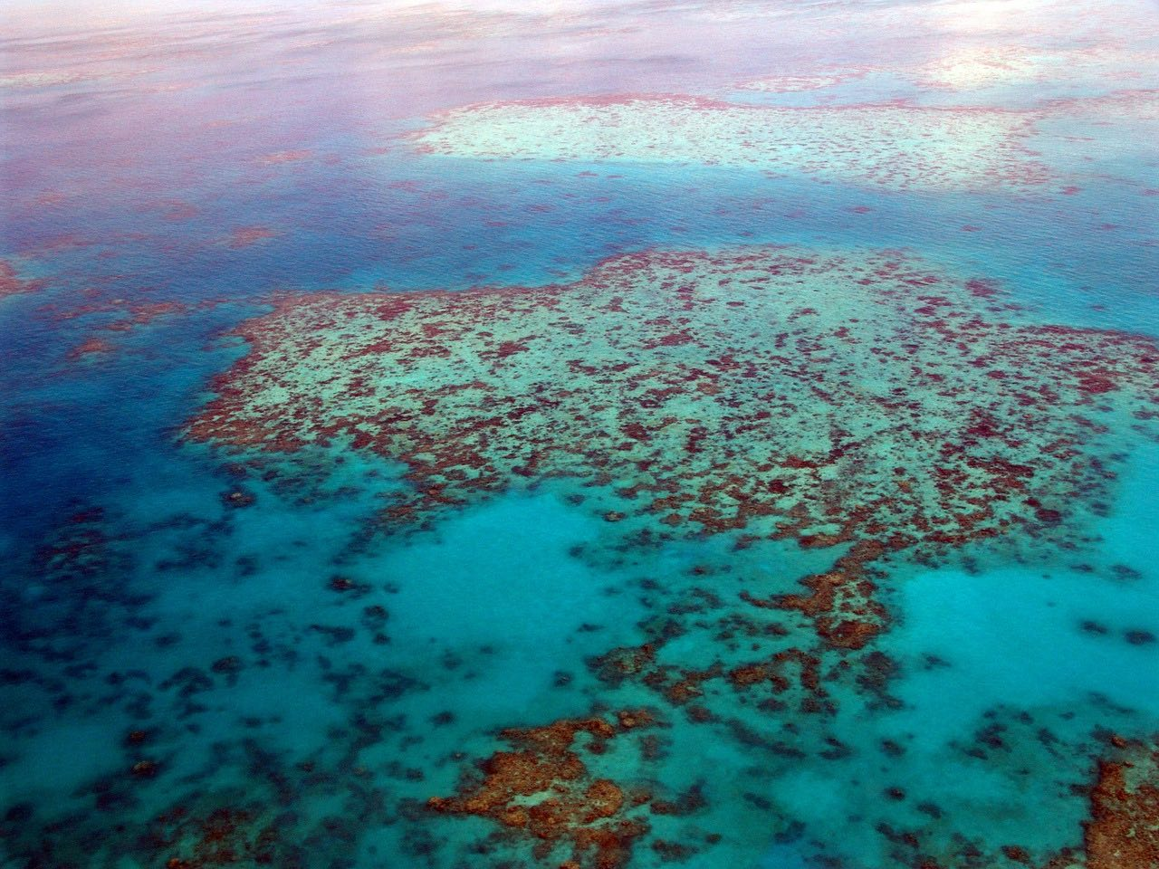 great-barrier-reef from above_Australia_PD