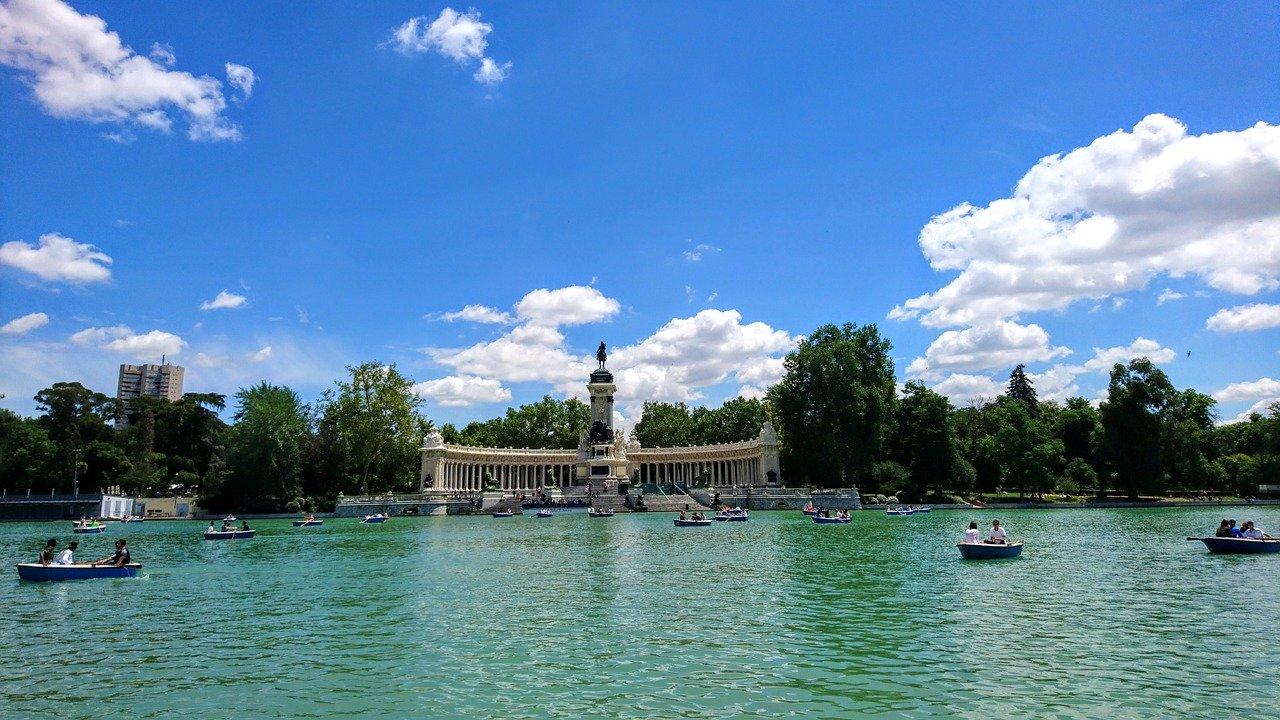 El Retiro Park Madrid_Spain_PD