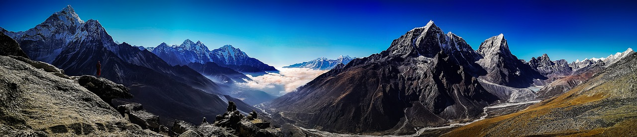 Everest-base-camp Nepal Panorama_PD