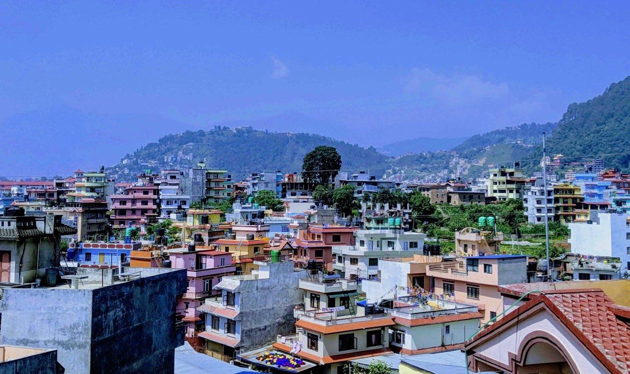 Kathmandu City rooftop view_AOT