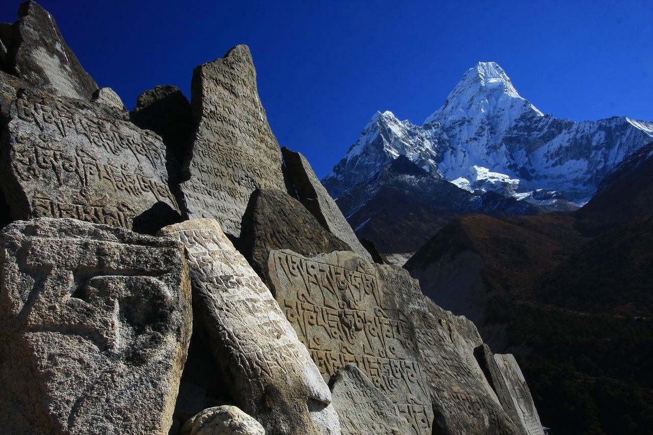 Nepal_Khumbu_Himalayas_Mani Stones_