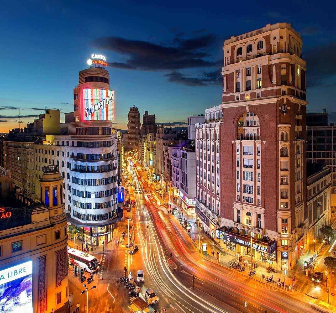 Plaza Del Callao_Madrid_Spain_PD