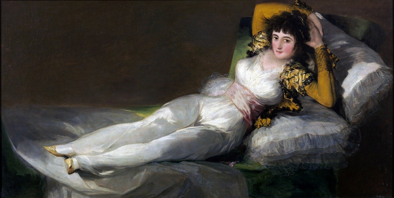 The Clothed Maja by Goya_Spain_PD
