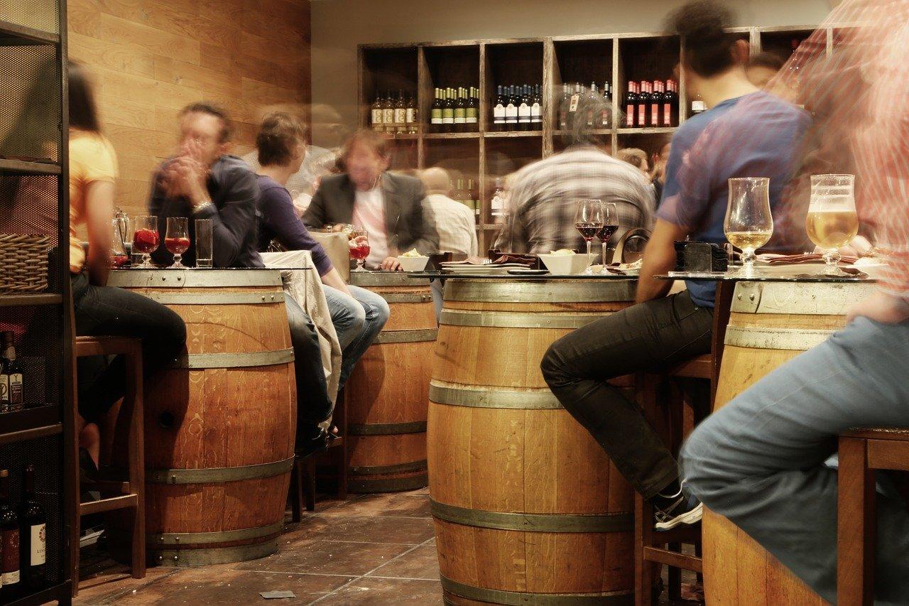 bar scene in Madrid_Spain_PD