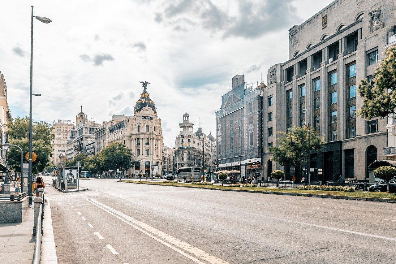 madrid city view_spain_pd