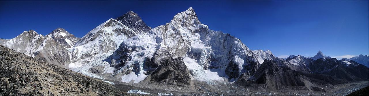 Mount Everest_Nuptse_Lhotse_Sagarmatha_PD
