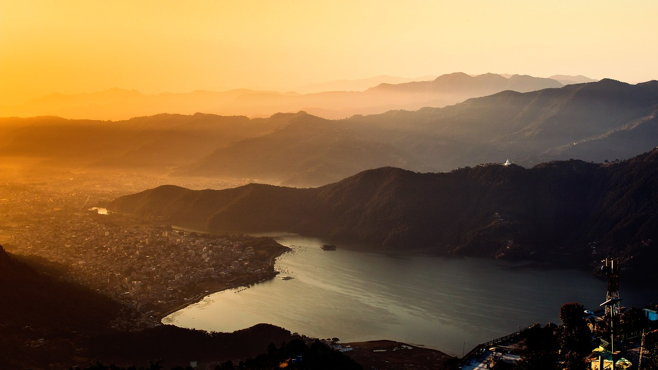 Sunrise in Pokhara Nepal_PD