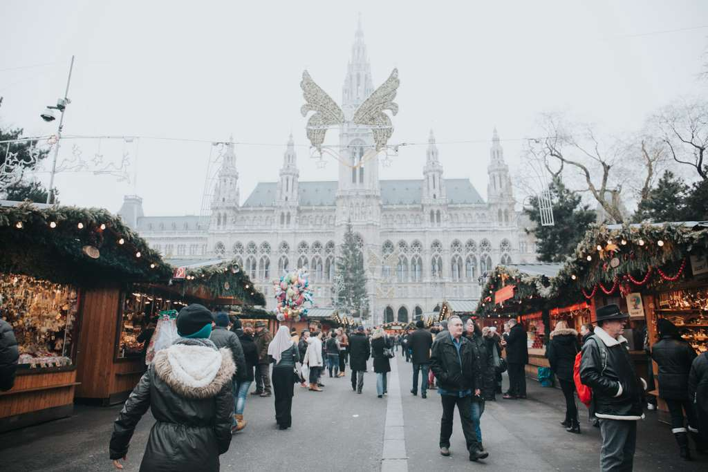 Christmas festival in Vienna Austria_Western Europe_CC0