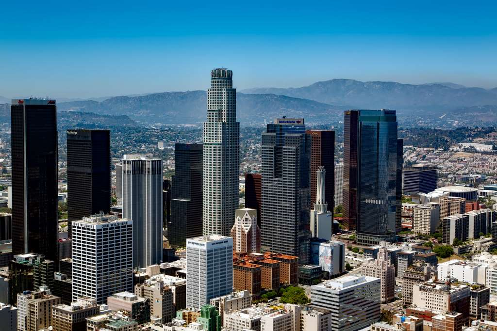 los-angeles-california-skyline PD