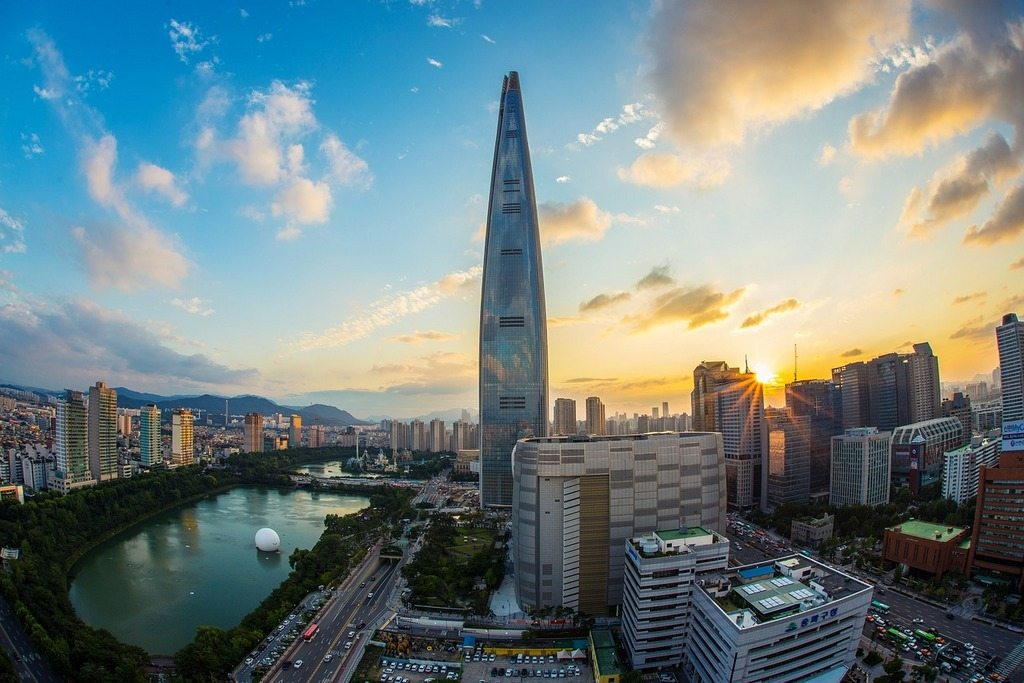 lotte-world-tower-fisheye-korea-seokchon_lake-city-seoul
