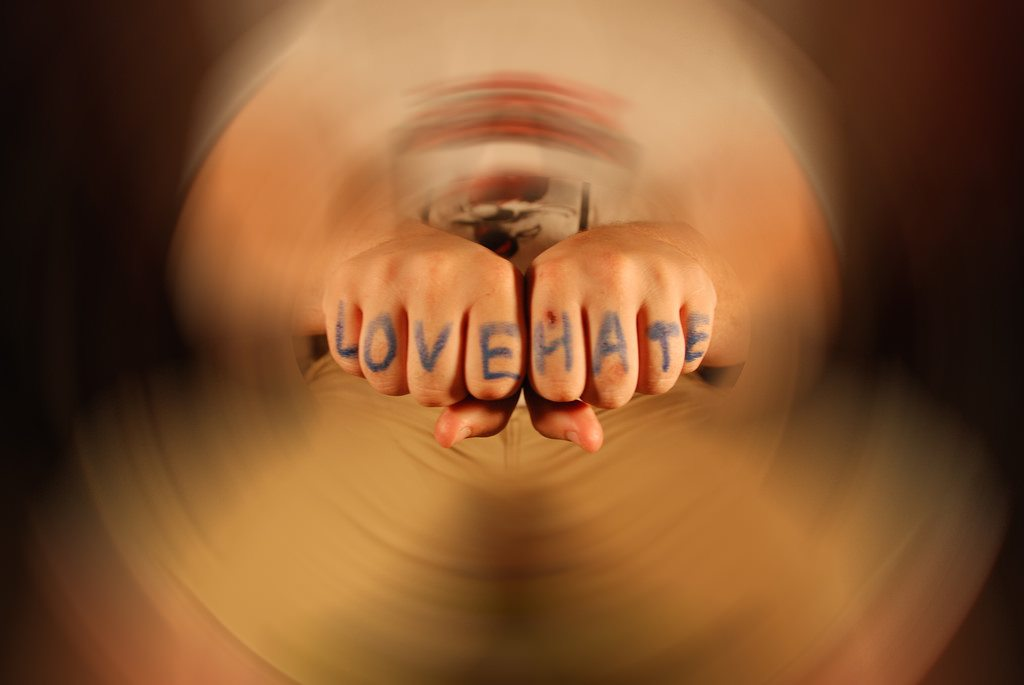 love-hate-hands-written