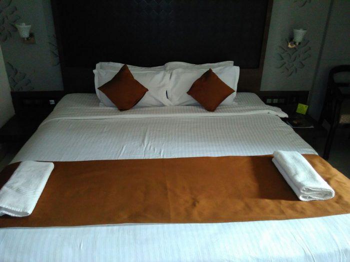 Hotel room inside view in Puri_Odisha_India_AOT