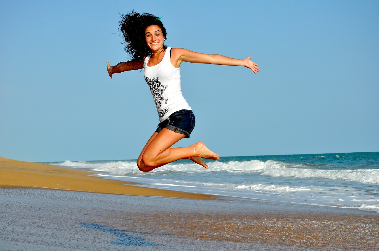 fitness-jump-health-woman-girl-sea-beach