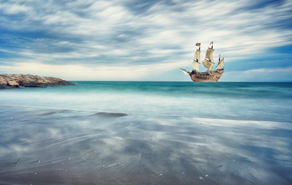 sailing-vessel-coast-sea-ship