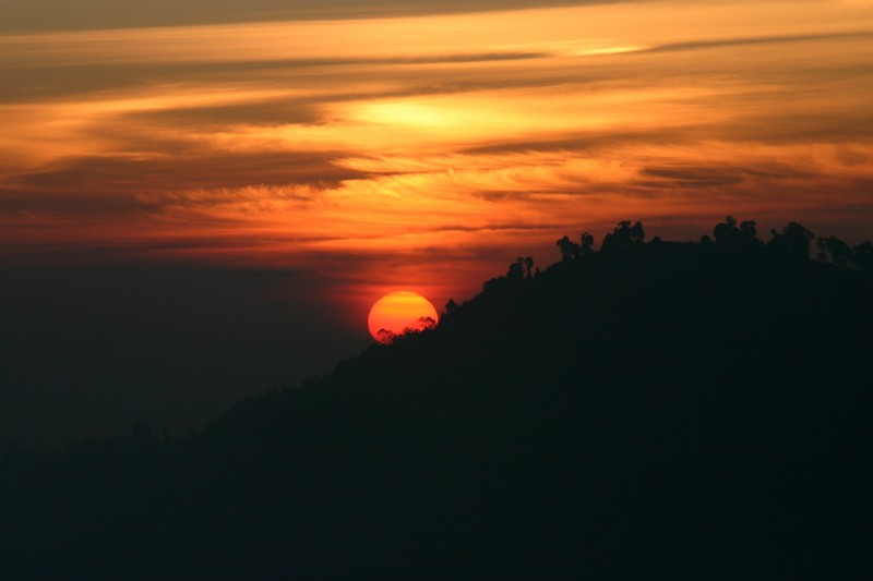 Darjeeling sunrise at tiger hill