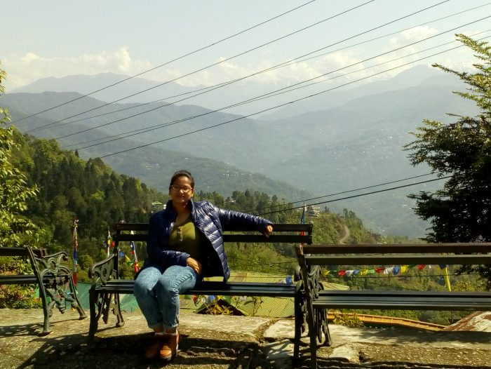 Ankita in Gangtok_Travel Tales from Solo Girl_AOT
