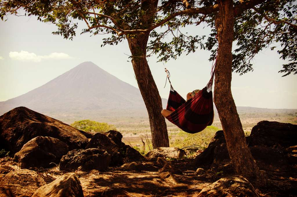 A Girl Chilling in Hammock_PD