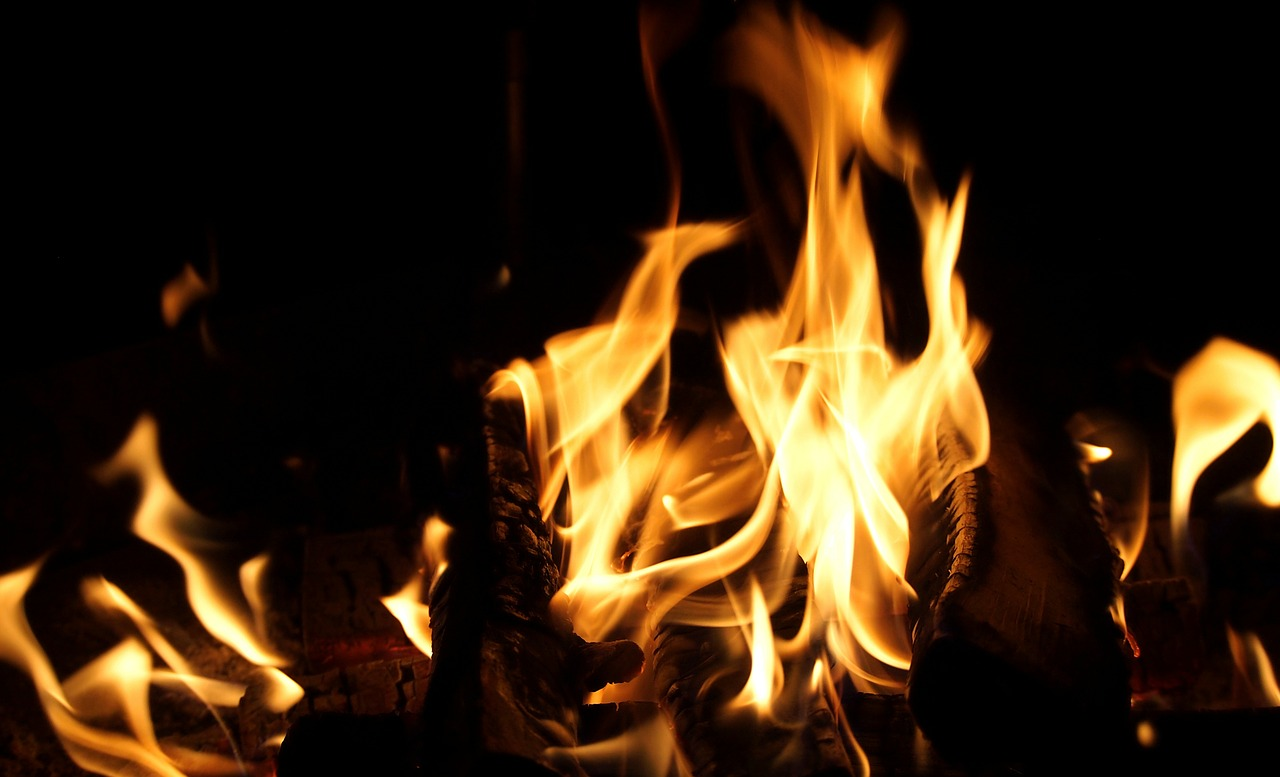 fire-campfire-camping-flame-burn