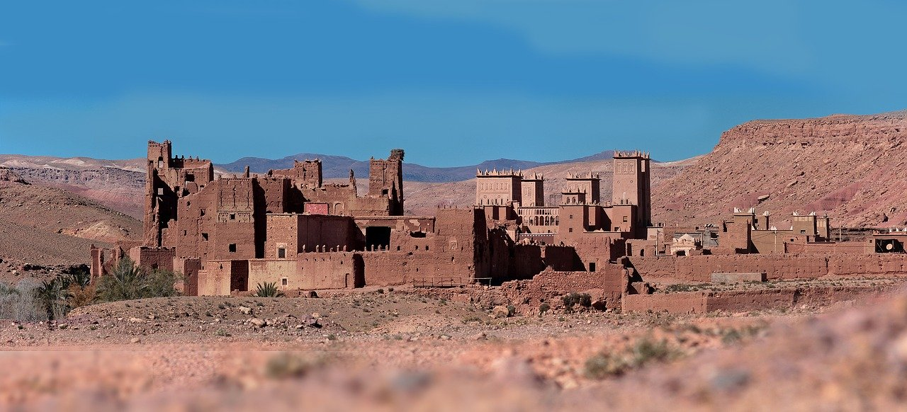 A Berber village kasbah in Morocco_PD