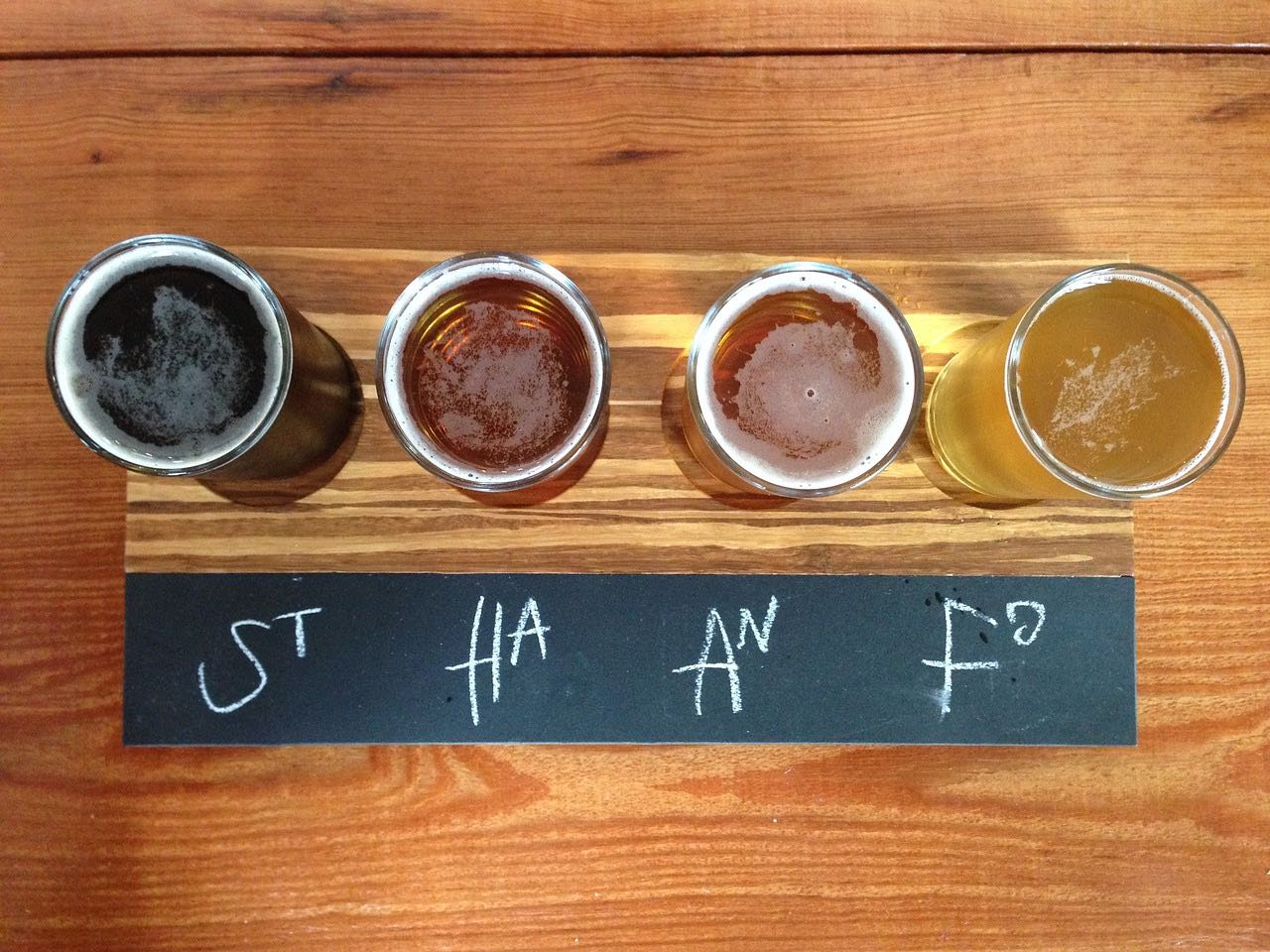 Craft beer flight_draft beer_PD