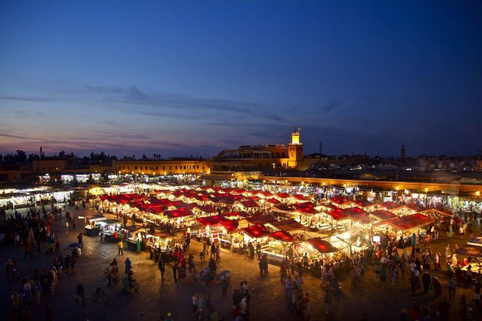 Jemaa el Fna at Night_PD