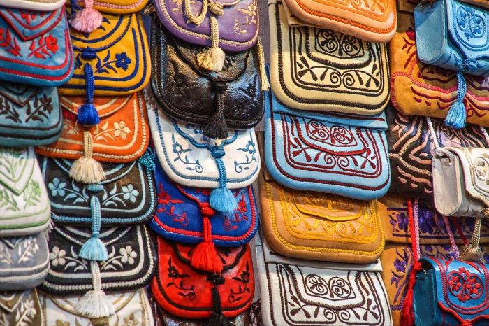 Souk Bazaar in Marrakech_Morocco_PD