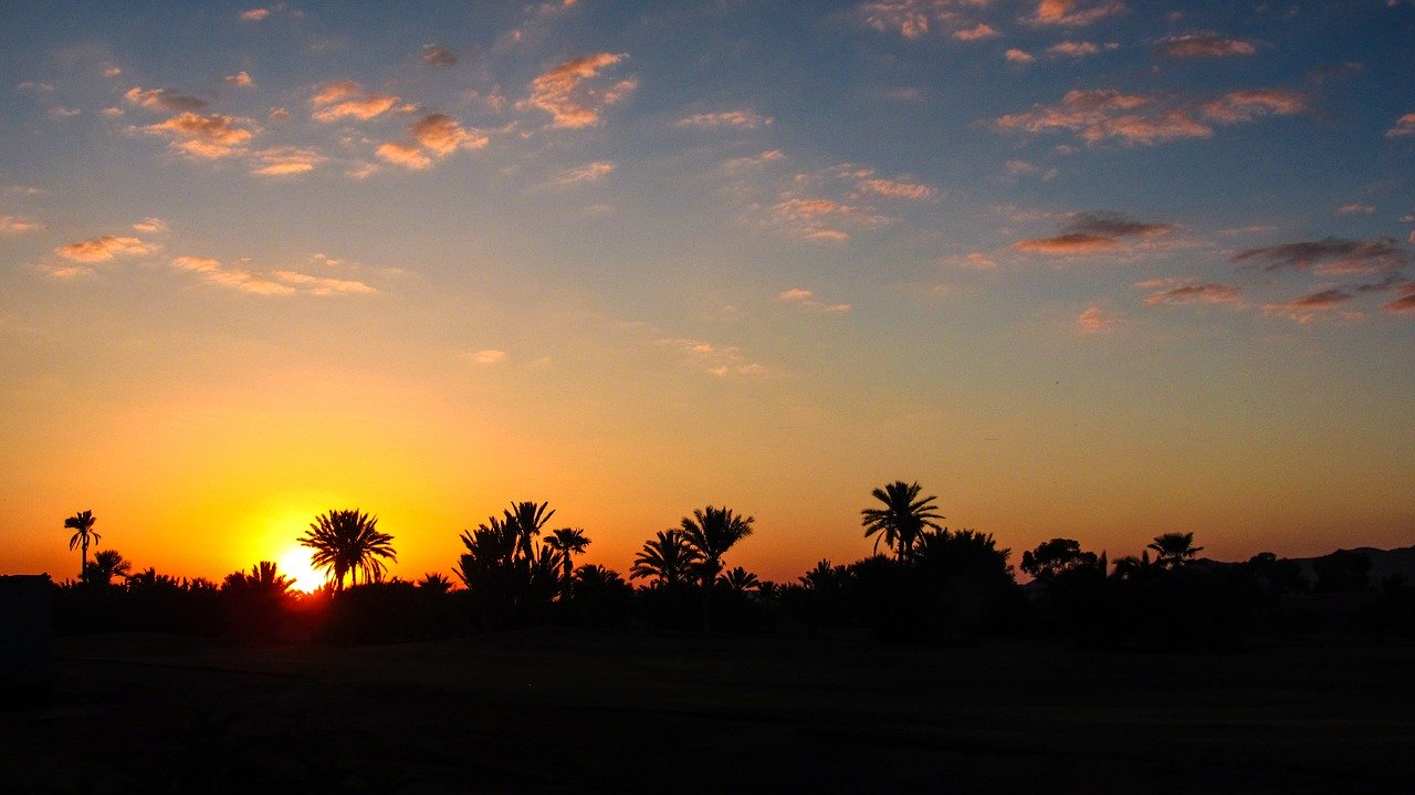 Sunset in Marrakech_Morocco_PD