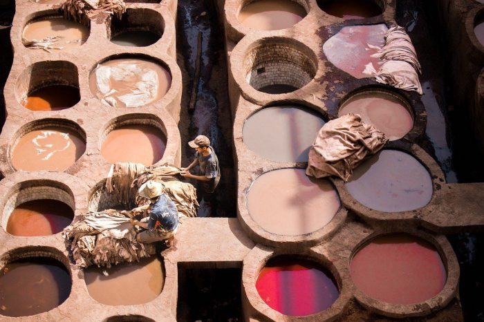 morocco_tannery_colorful tanneries_PD