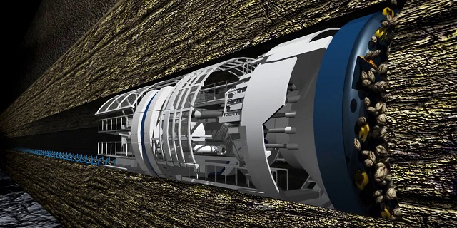 the boring company, elon musk and tunnel boring machine