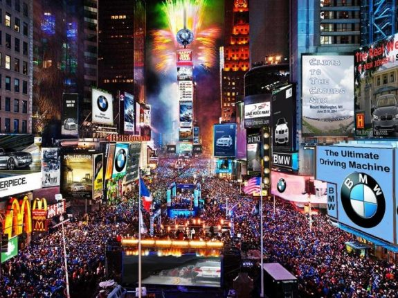 A First Time European Visitor Guide to New York City. Time-square-new-york-new-year