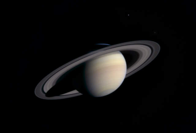 Cassini spacecraft Arrives at Saturn