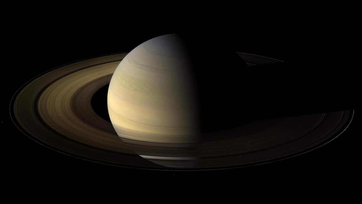 NASA's Cassini Spacecraft Saturn Photos. Saturn Eclipse Equinox