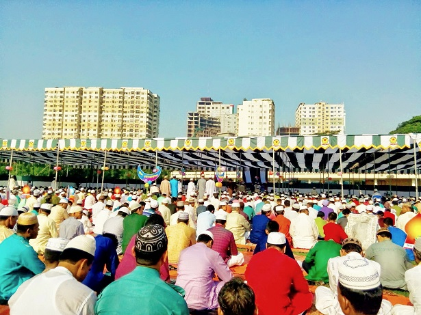 Eid_Prayers_Dhaka Bangladesh