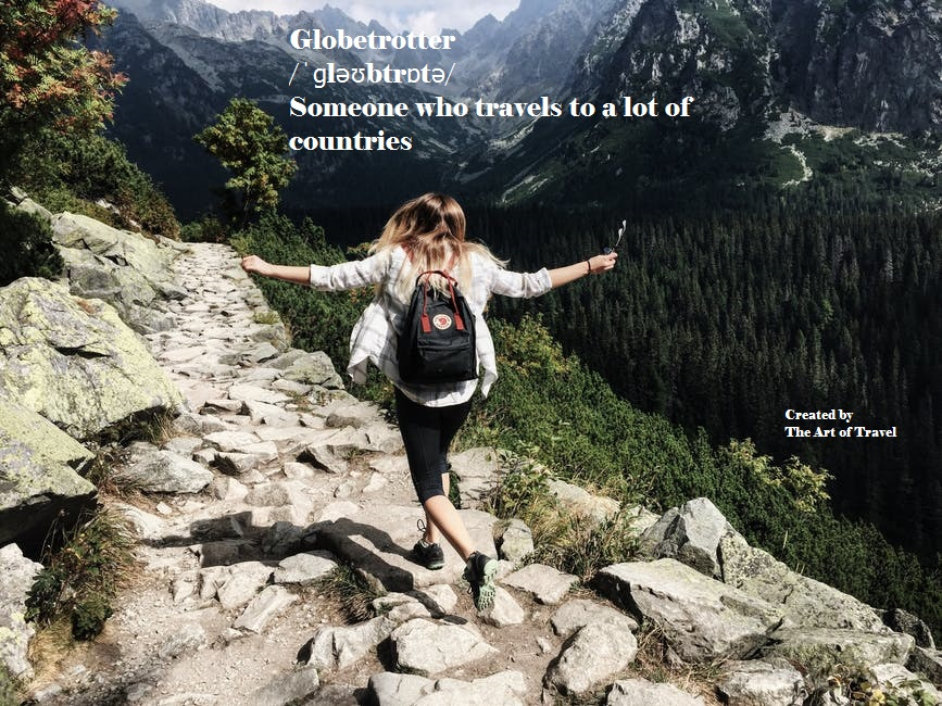 Globetrotter_Synonymous Words for Travel Lovers