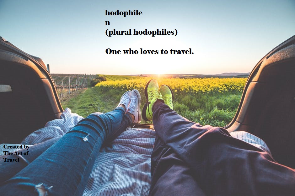 Hodophile_Synonymous Words for Travel Lovers