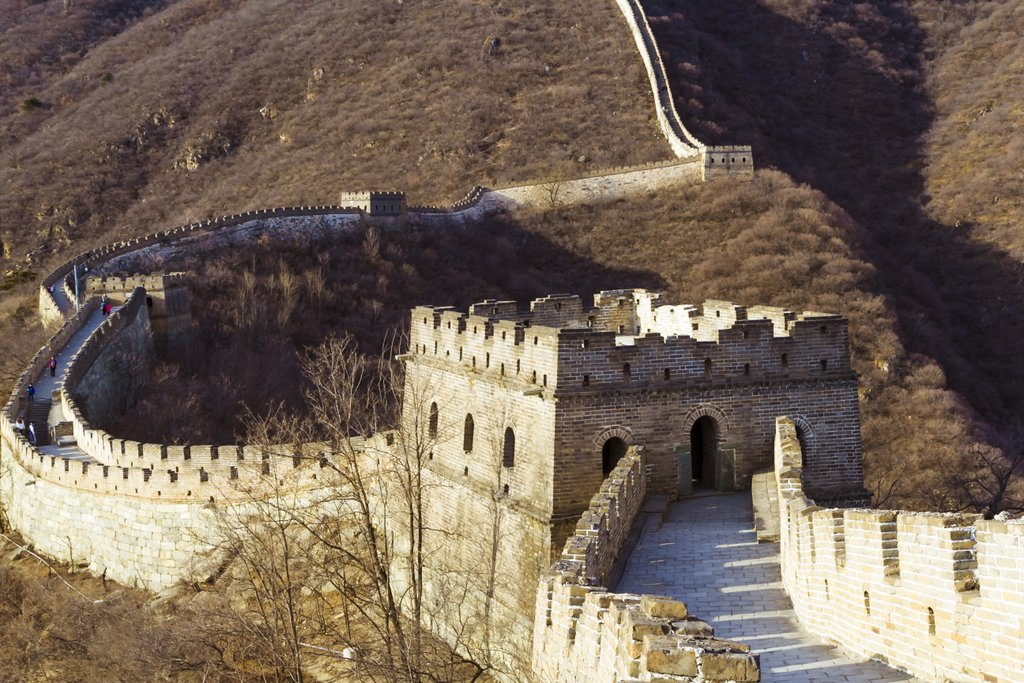 Beijing_the-great-wall of china_PD